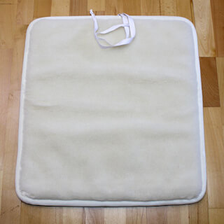 Yoga mat natural, Baby, anti-slippery, 65 x 70 cm