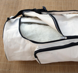 Yogabag Sat Nam, Canvas Natural White