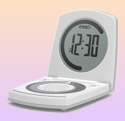 Enso ASARI Yoga-Timer with Touch Pad, Oyster-Grey