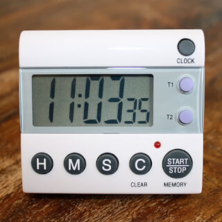 Yoga Timer Deluxe, with optical signal & volume control