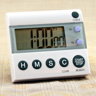 Yoga Timer Comfort TR 118, 2 time takes
