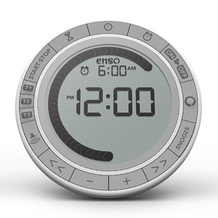 Enso Pearl Yoga timer and Meditation clock
