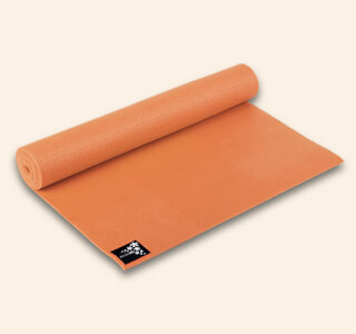 Yogimat Basic Mango-Orange, 183 x 61 cm