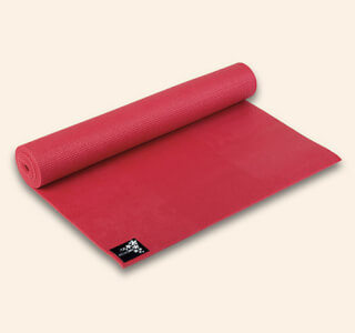 Yogimat Basic Fire Red, 183 x 61 cm