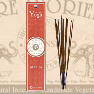 Mantra Yoga Incense Fiore D'Oriente 12 g, 8 pcs.