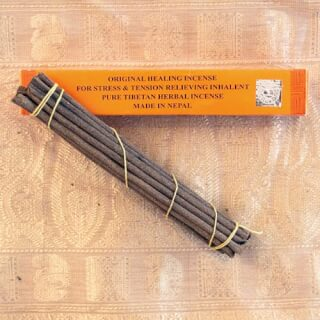 Tibetan Healing Incense, 18 sticks