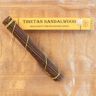 Tibetan Sandalwood Incense, 27 sticks