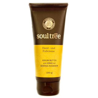 Hand & Foot Care Cream SoulTree Ayurveda, 100 g