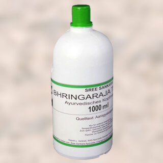 Bhringaraja Thailam Head Massage Oil, 1 liter