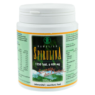 Spirulina Pacifica Hawaiian, 500 g - 1250 Tabletten