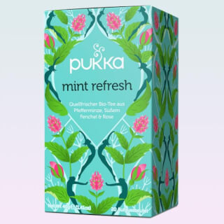 Mint Refresh Pukka Tea organic, 20 teabags