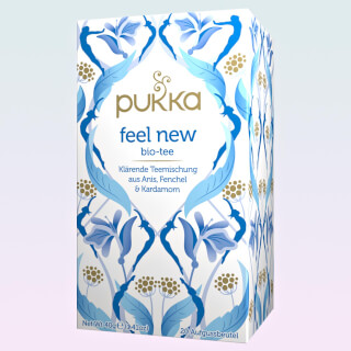 "Feel New Pukka Tea, infusion bio, 20 sachets (""Detox"")"