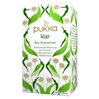 Cleanse Pukka Tea organic, 20 teabags