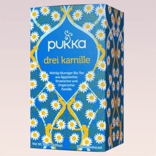 Three Camomile Pukka Tea organic, 20 teabags