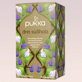 Three Licorice Pukka Tea organic, 20 teabags