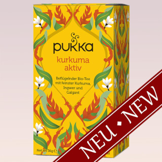 Curcuma tonique Pukka Tea bio, 20 sachets