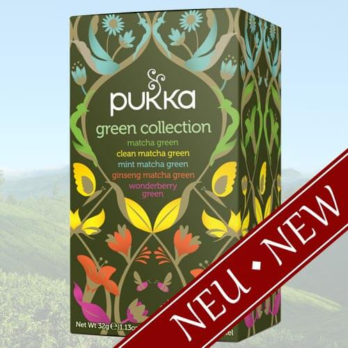 Green Collection Pukka Tea, 20 sachets