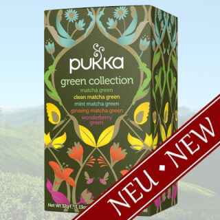 Green Collection Pukka Tea, 20 teabags