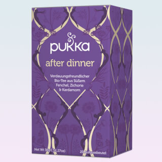 After Dinner Pukka Tee Bio, 20 Teebeutel