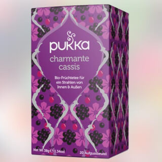 Blackcurrant Beauty Pukka Tea organic, 20 teabags
