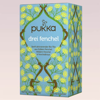 Three fennel Pukka Tea organic, 20 teabags