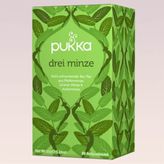 Three Mint Pukka Tea organic, 20 teabags
