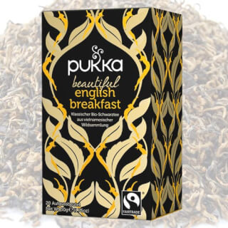 Beautiful English Breakfast Pukka Tee Bio, 20 Teebeutel