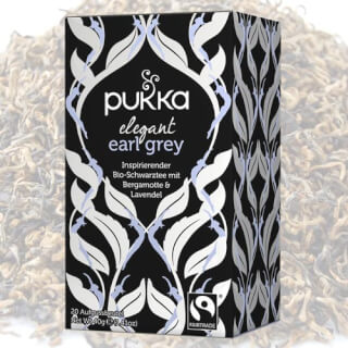 Gorgeous Earl Grey Pukka Tea bio, 20 sachets