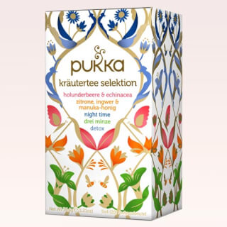 Pukka Tea Selection Pack organic, 5 x 4 (20) teabags