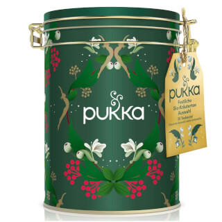Pukka Herbal Collection Tea Caddy, 30 teabags