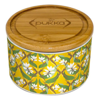 "Pukka Tea Caddy ""Turmeric Gold"""
