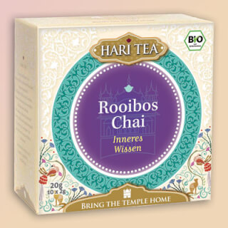 "Rooibos Chai ""Inner Connection"" Hari Tea organic, 10 teabags"