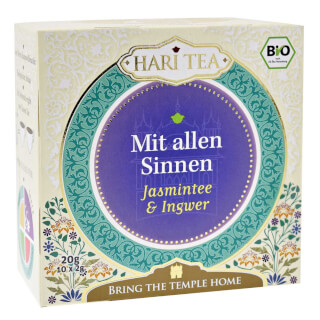 "Within & Without ""Jasmin & Gingembre"" Hari Tea bio, 10 sachets"