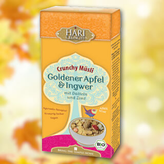 Hari Crunchy Golden Apple & Ginger organic, 275 g