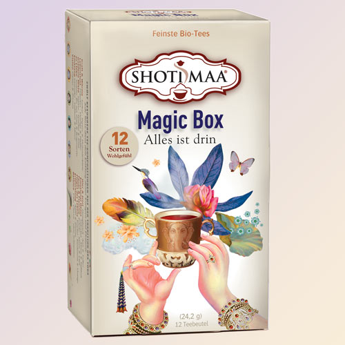 Magic Box Shoti Maa Tee Bio, 12 Teebeutel