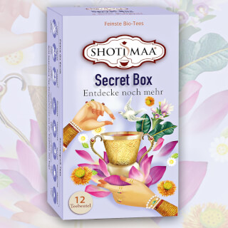 Secret Box Shoti Maa Tee Mix-Pack Bio, 12 Teebeutel