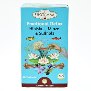 Emotional Detox Shoti Maa Tea organic, 16 teabags