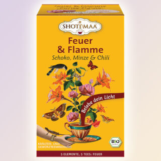 Purity Flame - Le Feu - Shoti Maa Tea bio, 16 Sachets