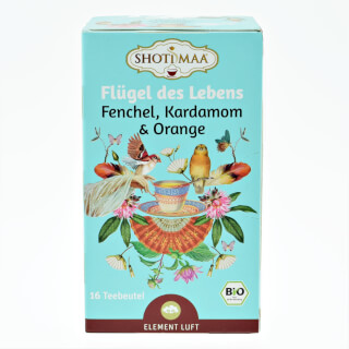 Life on Wings Shoti Maa Tea organic, 16 Teabags