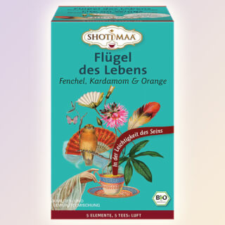 Life on Wings - l'Air - Shoti Maa Tea bio, 16 Sachets