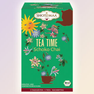 Tea Time Shoti Maa Sundial Tea organic, 16 teabags