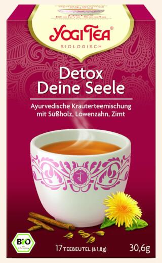 detox deine seele yogi tee bio 17 teebeutel. Black Bedroom Furniture Sets. Home Design Ideas