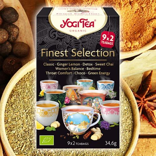 Finest Selection Yogi Tea organic, 9 x 2 teabags