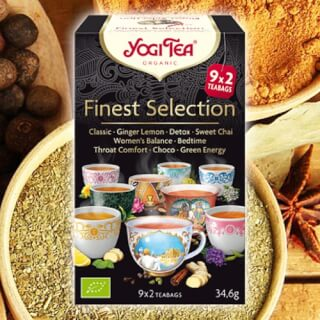 Finest Selection Yogi Tea bio, 9 x 2 sachets