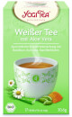 White Tea with Aloe Vera Yogi Tea organic, 17 teabags