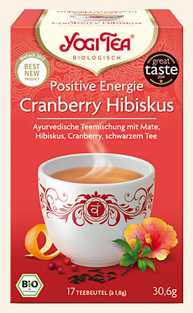 Positive Energy Yogi Tea organic, 17 teabags