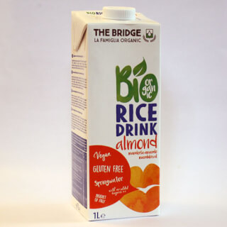 Rice Drink Almonds organic, 1 liter