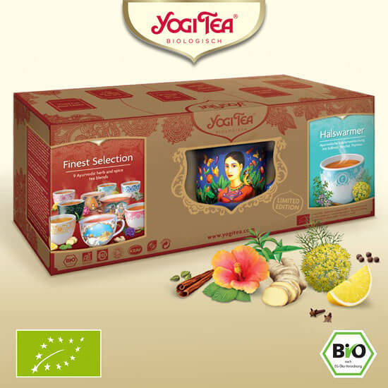 Yogi Tea Bundle Cup Gift Set