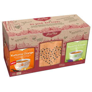 Yogi Tea Gift Set BEE'S HOTEL
