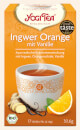 Ginger Orange with Vanilla Yogi Tea organic, 17 teabags